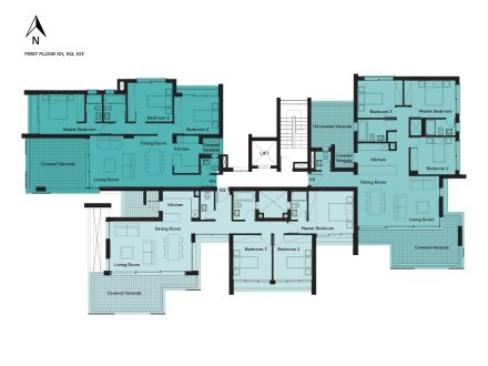 Amalfi Residences - First floor