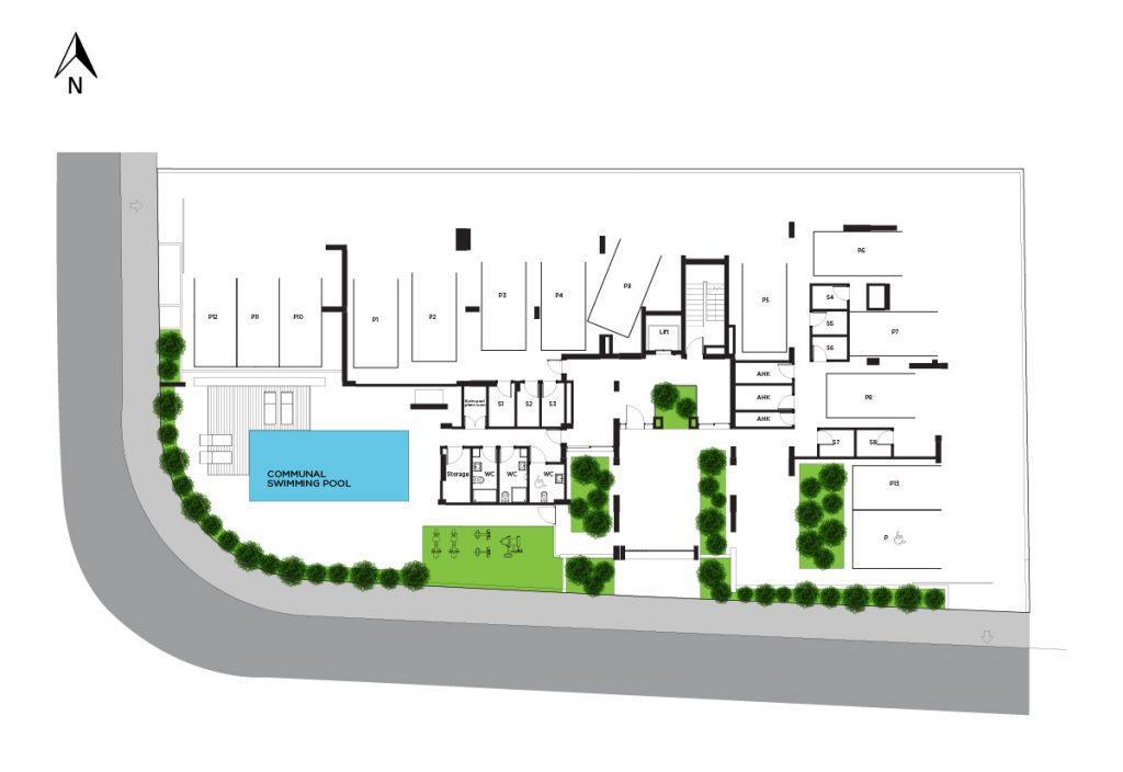 Amalfi Residences Site plan