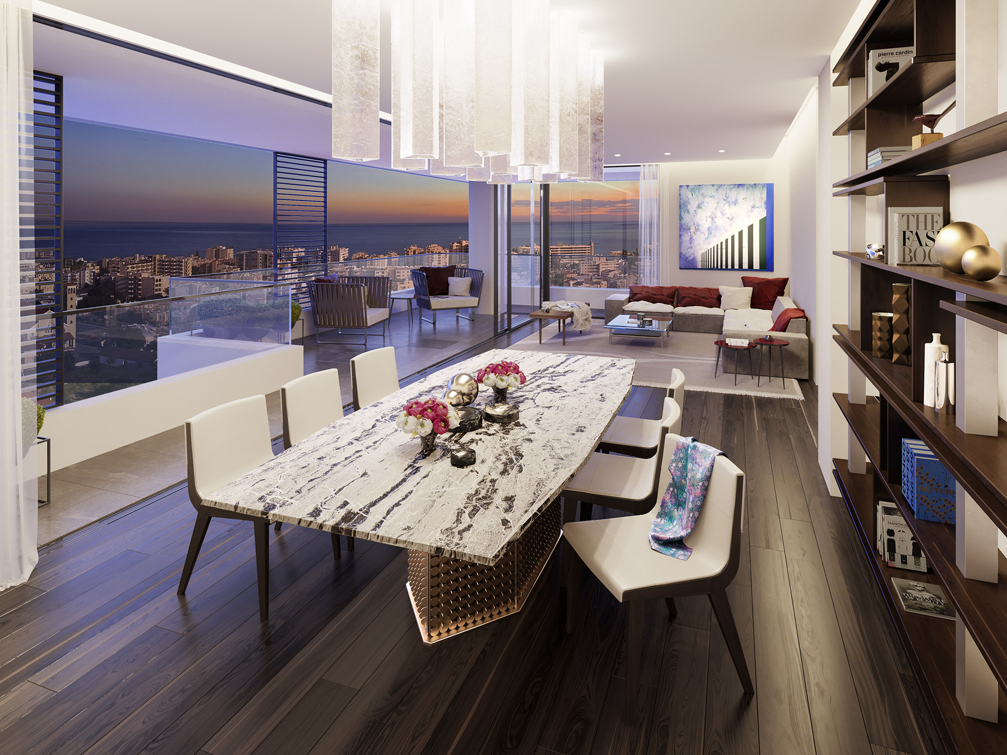 Living room - A401 Levante Residences