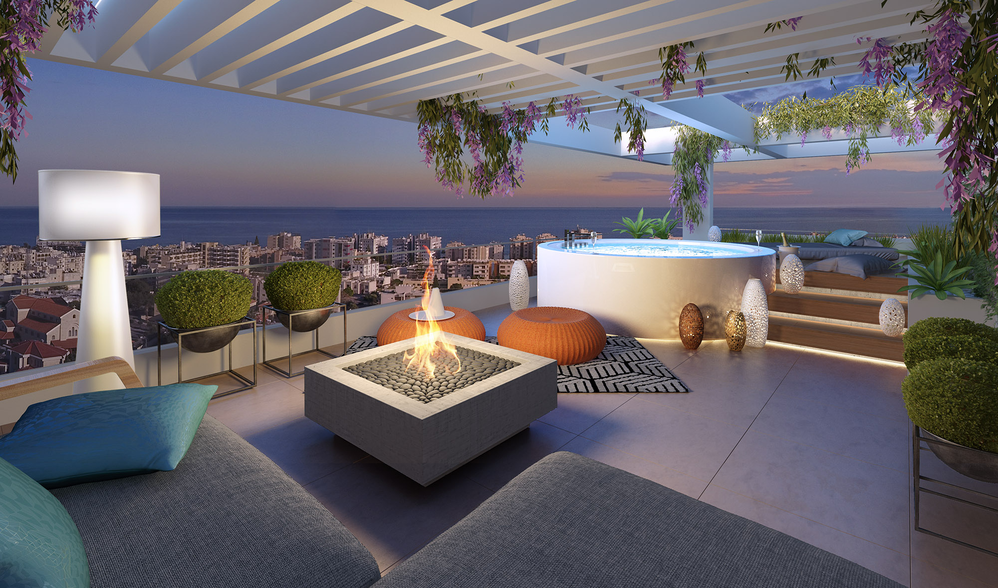 Roof garden - B401 Levante Residences
