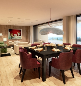 Pantheon Hill Residences – Apartment 302 Dining Area