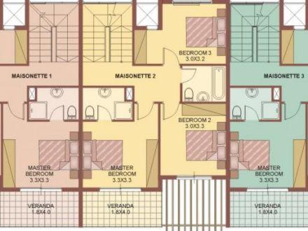 Premier - Maisonettes 1st floor