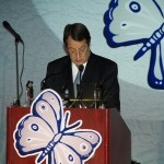 The President of the Republic of Cyprus, Nicos Anastasiades