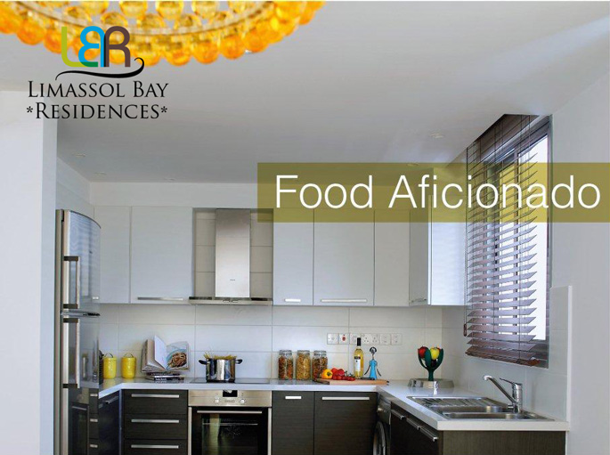 Limassol Bay Residences - Kitchen