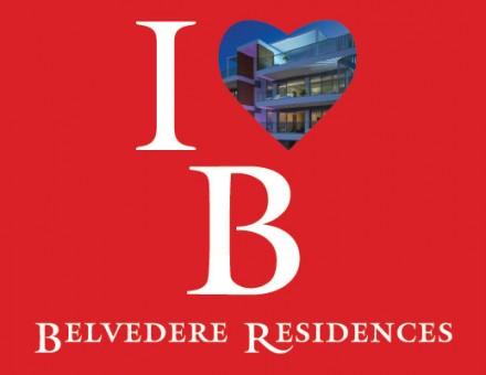 i heart belvedere