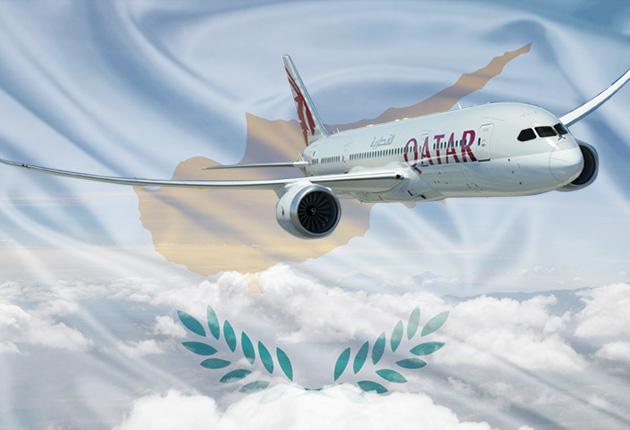 qatar airways to cyprus