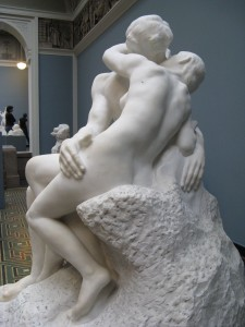 The Kiss (1888-89) by Auguste Rodin