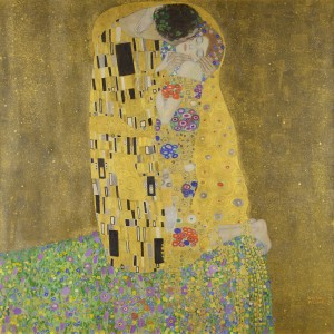 The Kiss (1907-08) by Gustav Klimt