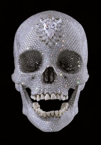 For the love of God (2007) by Damien Hirst