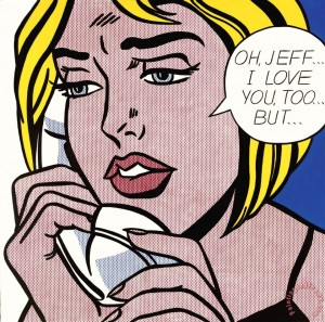 Oh, Jeff... I Love You Too, But... (1964) by Roy Lichtenstein
