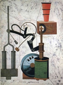 Parade Amoureuse (Love Parade) (1917) by Francis Picabia
