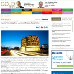 GoldNews - Imperio Completes New Landmark Project, Noble Centre 15.10.2015 Article