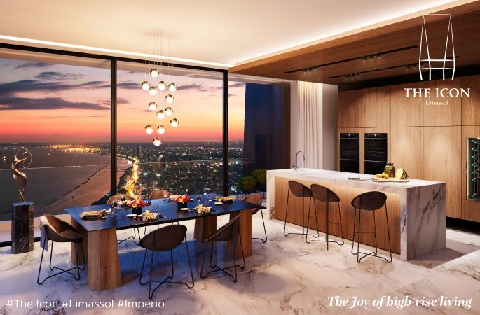 The Icon - the joy of high-rise living