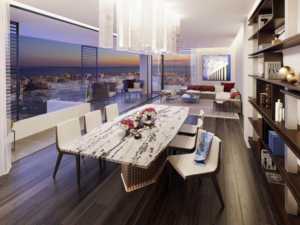 living room - Levante Residences