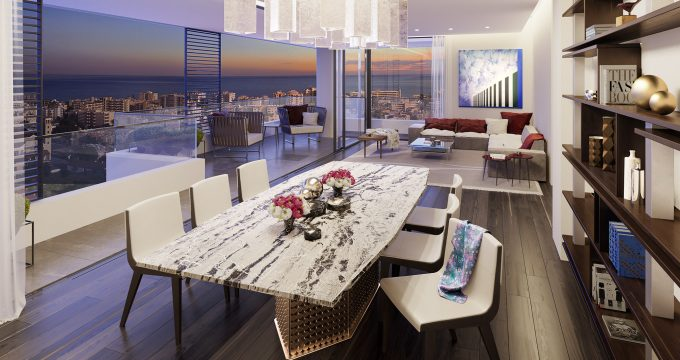 living room - Levante Residences
