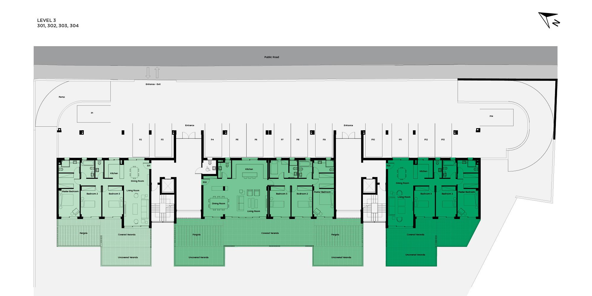 pantheon hill level 3 floorplan