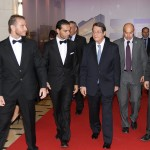 The arrival of the President of Cyprus Republic