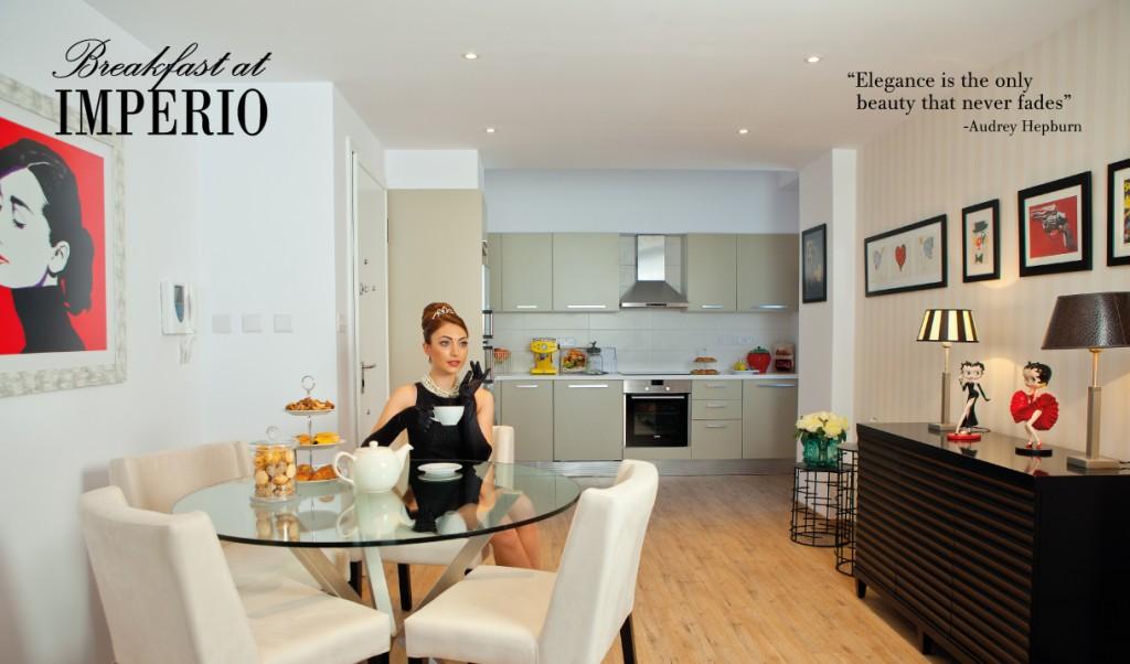 Breakfast at Imperio - Audrey Hepburn
