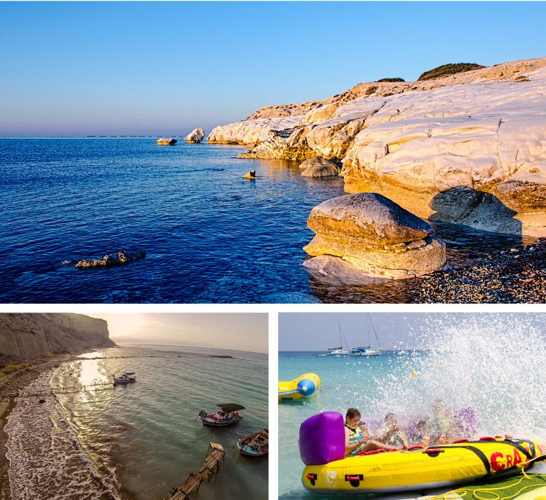 limassol beaches, Cyprus
