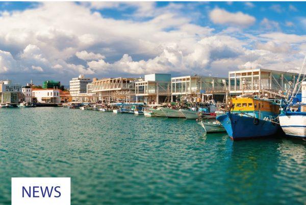 limassol, cyprus, oldport, традиционный, рыбный, порт