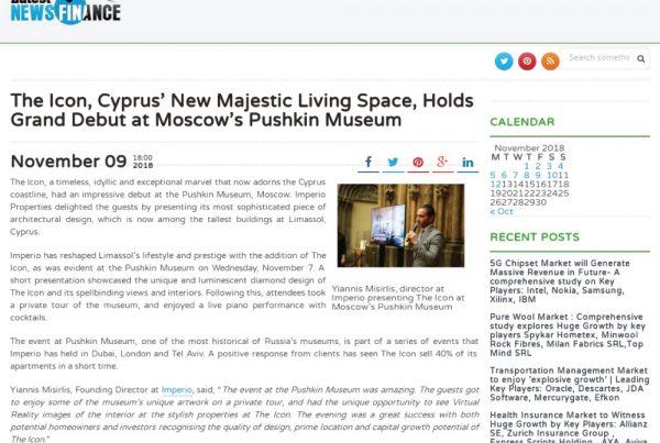 latestnewsfinance, theicon, cyprus, limassolicon, majesticlivingspace, majesticliving, misirlis, imperio, moscowspushkinmuseum, timeless, idyllic, exceptional, 125metreshigh, tower